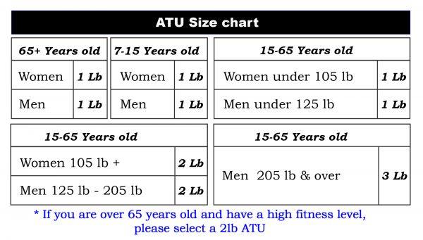 Size chart 3-01
